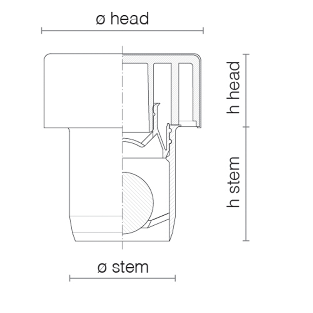 alluminio rettangolare-technical