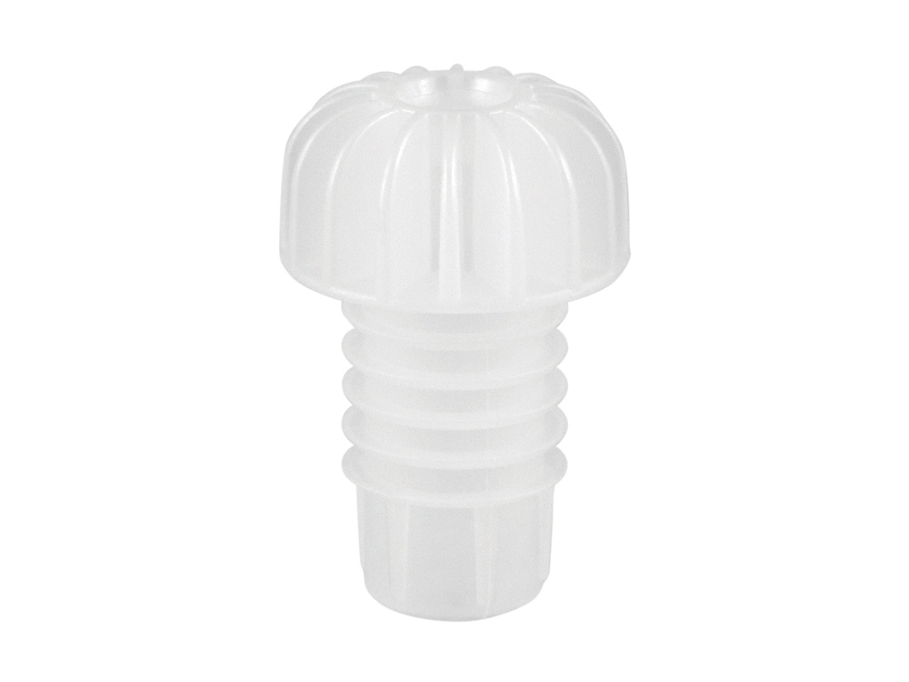 Plastic stoppers