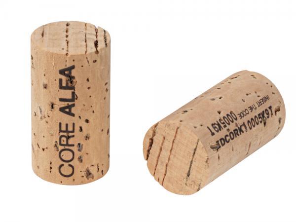 alfa core natural cork