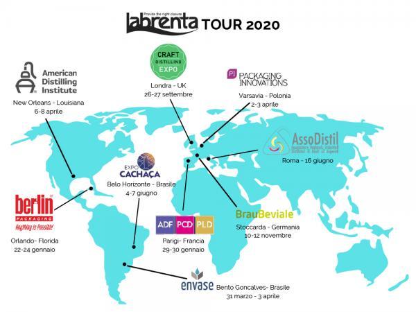 Labrenta on tour
