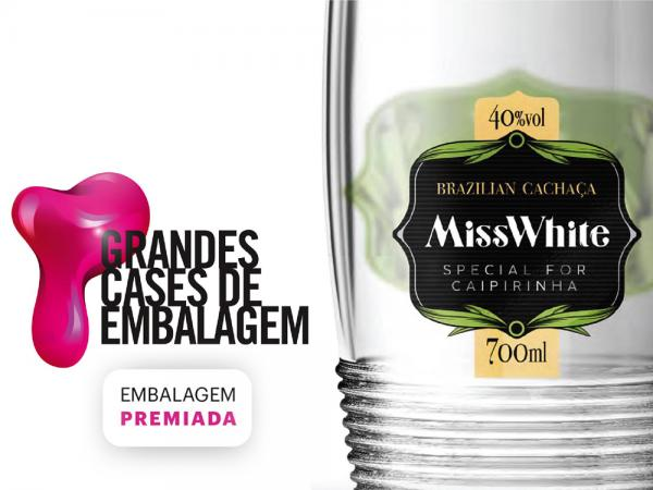 The winner of Grandes Cases de Embalagem award 2016 is our partner Cachaça Miss White.